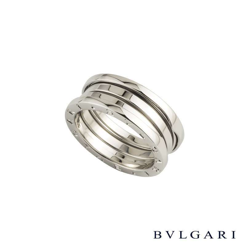 Bvlgari White Gold B.Zero1 Ring